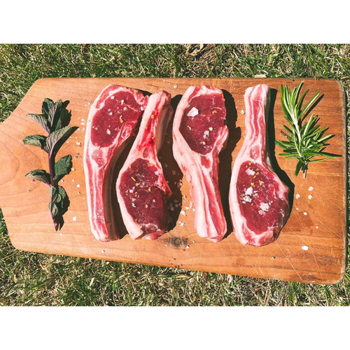Lamb Cutlets (4 pack) - Primal Grazing - Pasture Raised - GMO Free