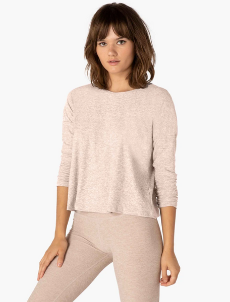 Beyond Yoga Morning Light Pullover