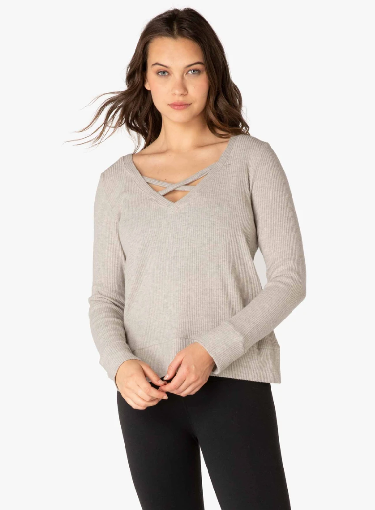 Beyond Yoga Reversible Pullover