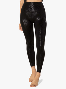 Beyond Yoga Shiny Leopard High Waist Legging