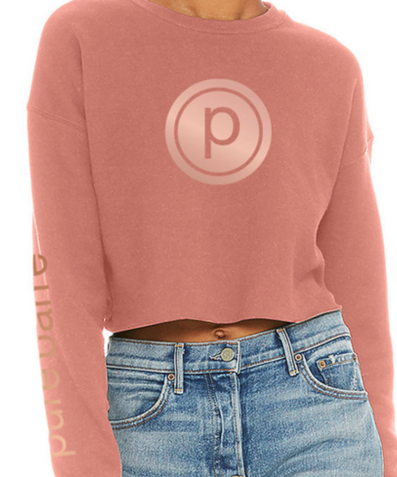 Pure Barre Crop Pullover