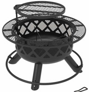 "24"" Wood Burning Fire Pit"
