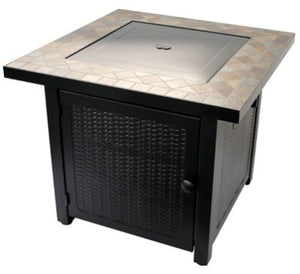 "30"" Slate Top Fire Pit - LP"