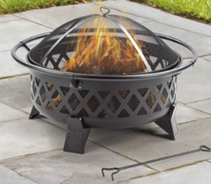 "35"" Wood Burning Fire Pit"