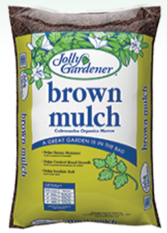 Premium Brown Dyed Mulch 2 cu ft