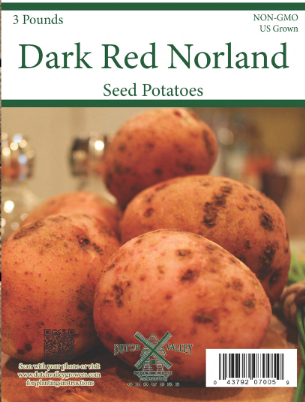 3# Dark Red Norland Seed Potatoes