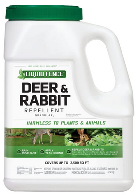 Liquid Fence Granular Deer Repellent  5 lb