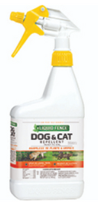 Liquid Fence Dog & Cat Repellent  32 oz RTU