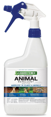 Liquid Fence Animal Repellent  32 oz RTU