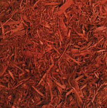 Load image into Gallery viewer, Red Dyed Mulch 2 cu ft