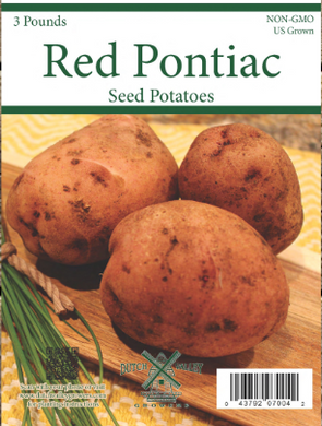 3# Red Pontiac Seed Potatoes