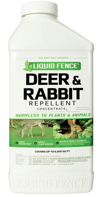 Liquid Fence Deer Repellent  40 oz Concentrate