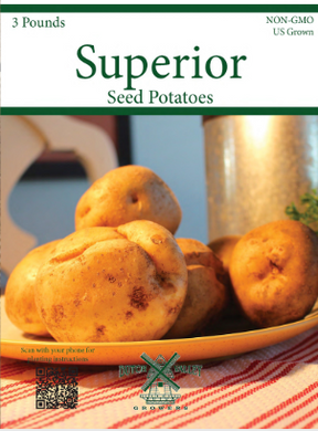 3# Superior Seed Potatoes