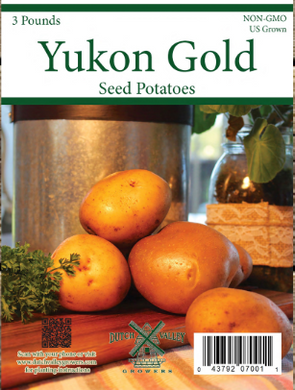 3# Yukon Gold Seed Potatoes