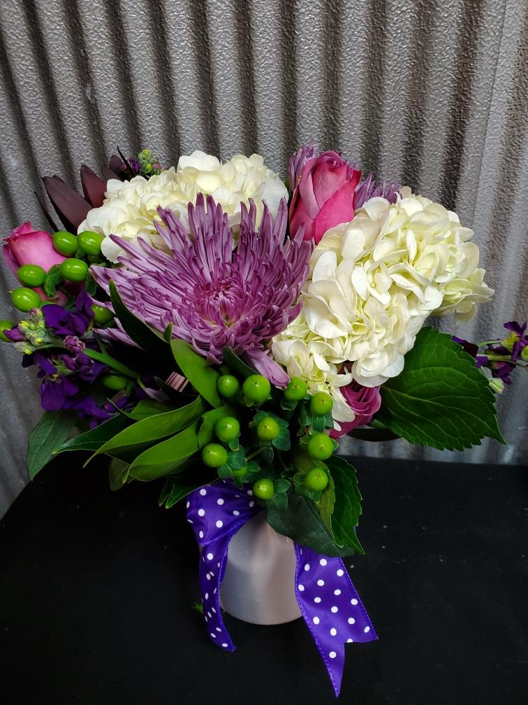 Polka Dot Hop Arrangement