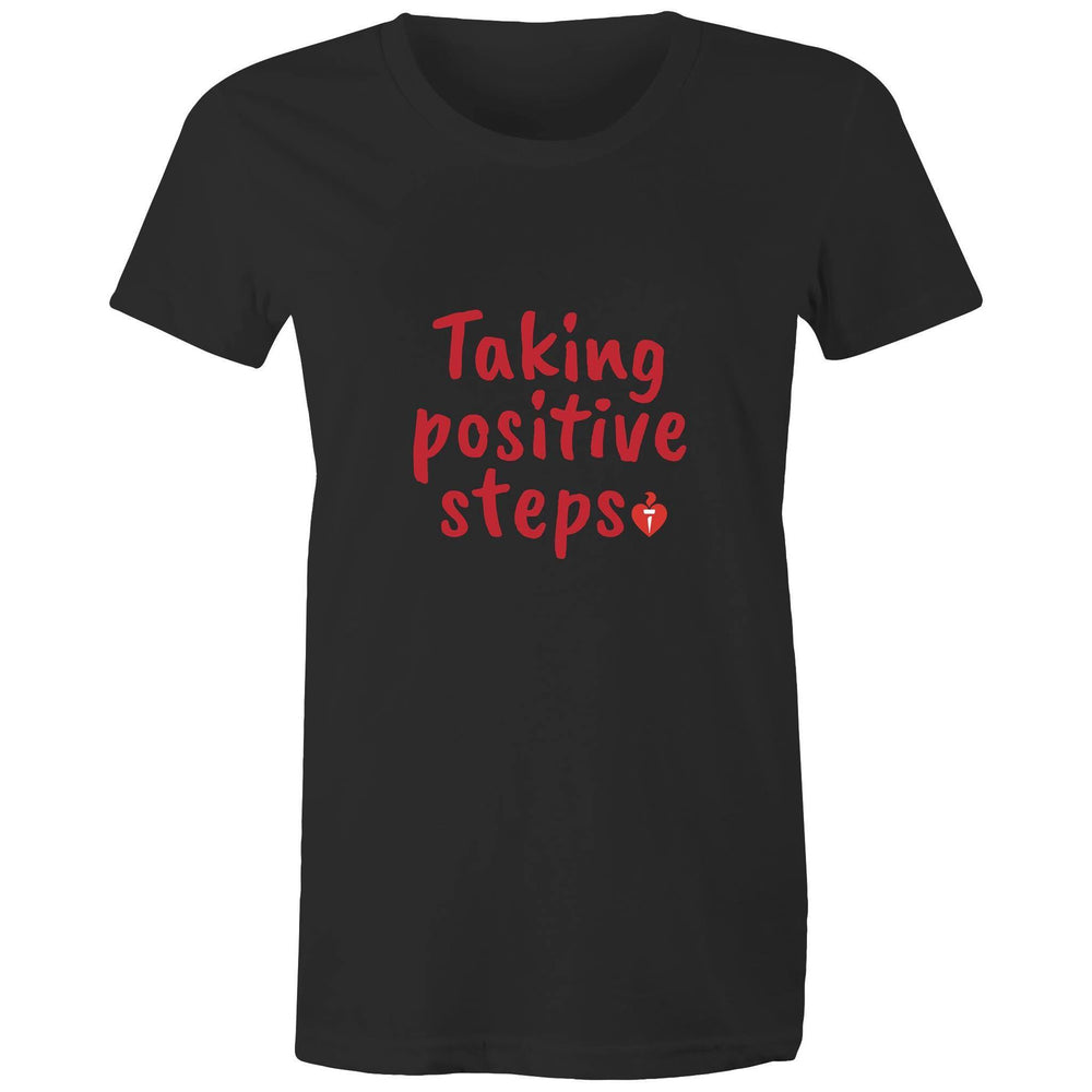 Taking Positive Steps Women's T-shirt