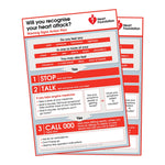 Warning Signs of Heart Attack Action Plan - Magnet