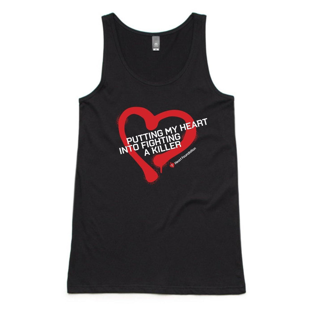 Putting My Heart - Mens Muscle Tank
