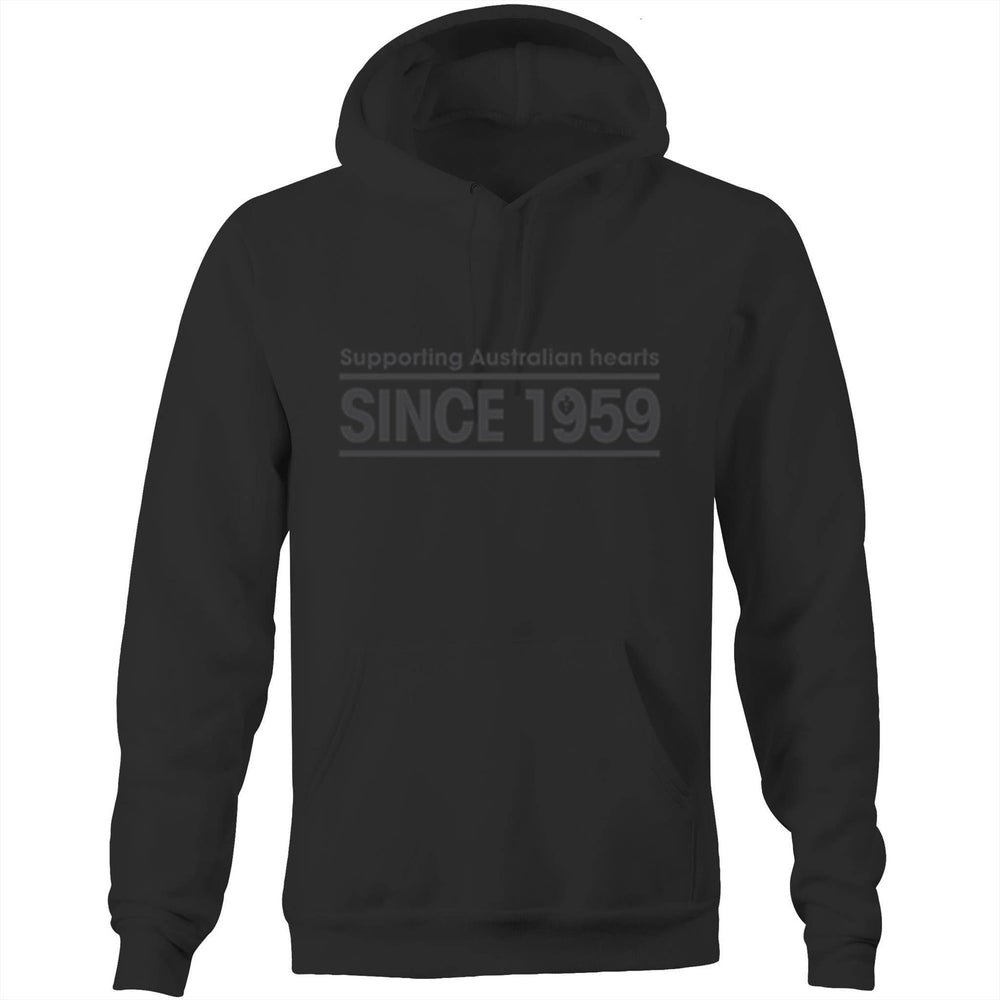Heart Foundation Since 1959 Unisex Hoodie Sweatshirt Black