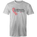 Walking Away Mens T-Shirt