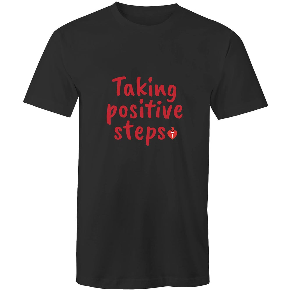 Taking Positive Steps Mens T-Shirt