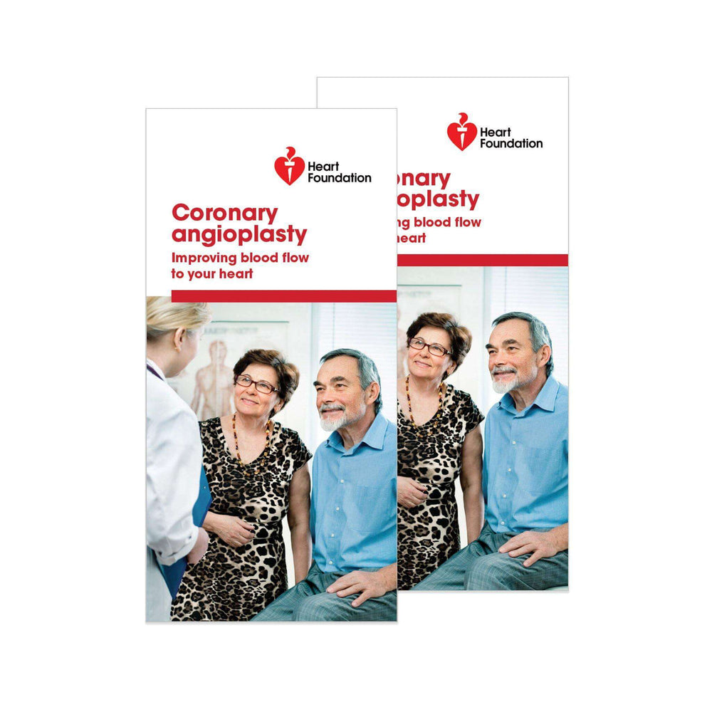 Coronary angioplasty - Brochure