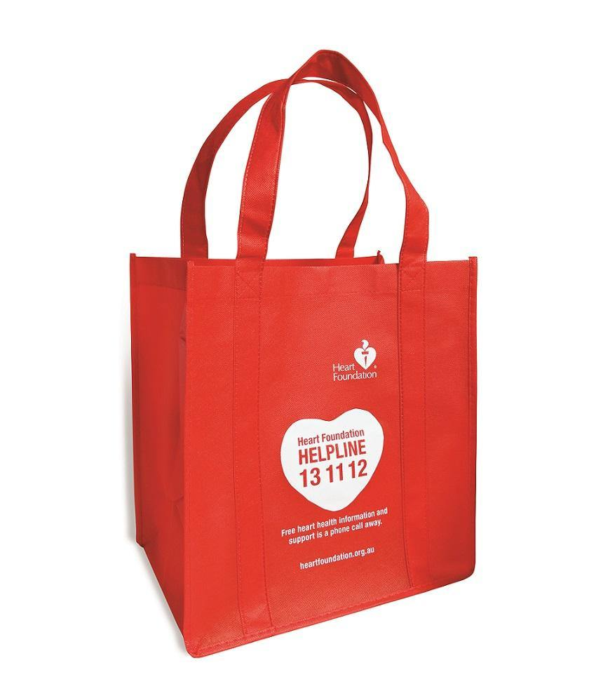 Eco-friendly Red Shopping Bag