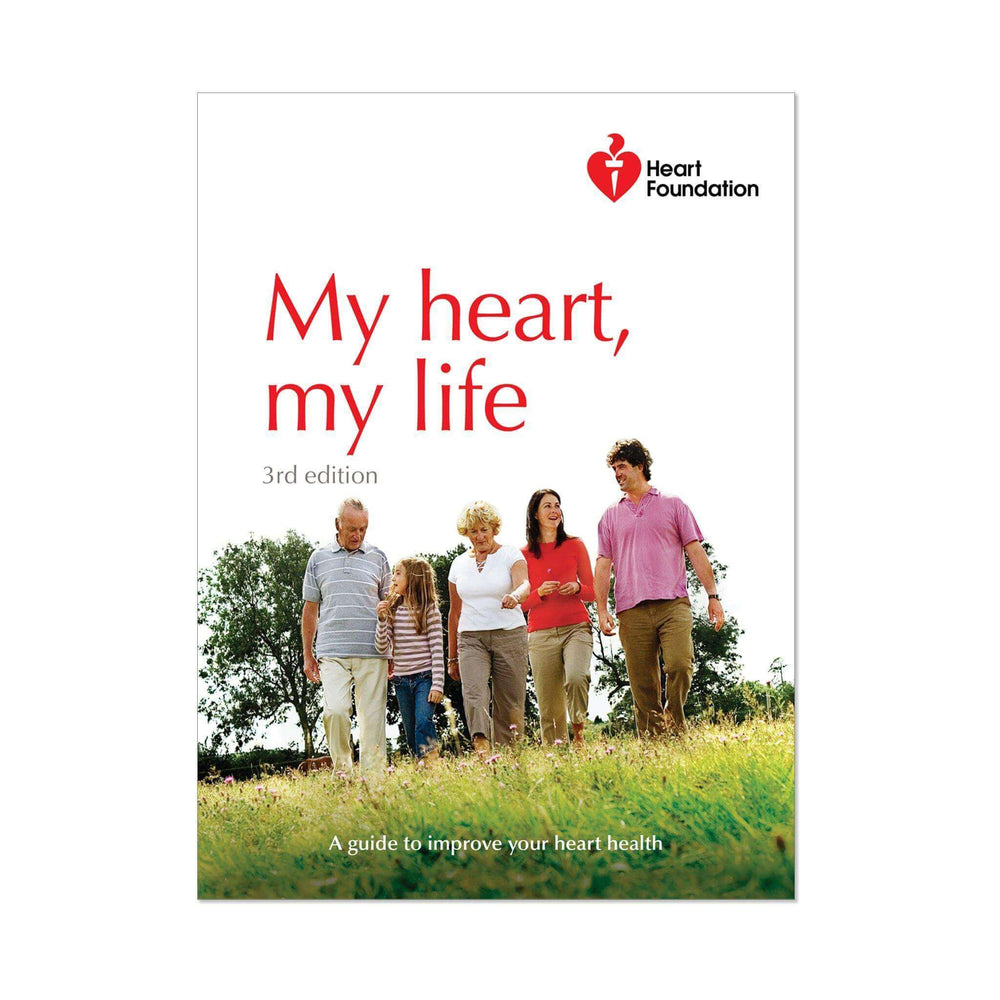 My heart my life 3rd edition - Booklet