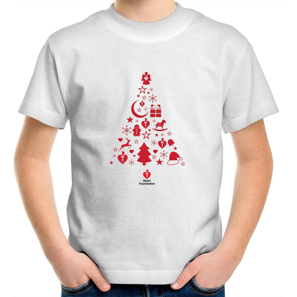 Christmas Tree- Kids Youth T-Shirt