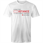 Heart Foundation Going The Distance Mens T-Shirt White