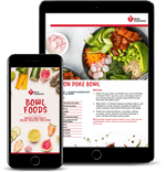 Bowl Food Recipe eBook