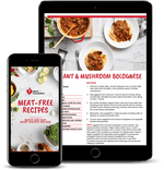 Meat Free Recipe eBook