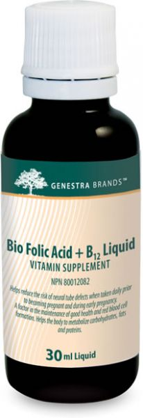 Bio Folic Acid + B12 Liquid