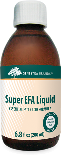 Super EFA Liquid – Natural Orange Flavor