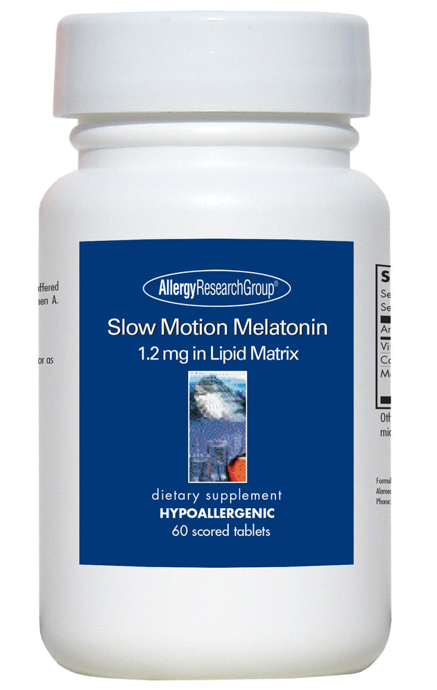 Slow Motion Melatonin (60 Tablets)