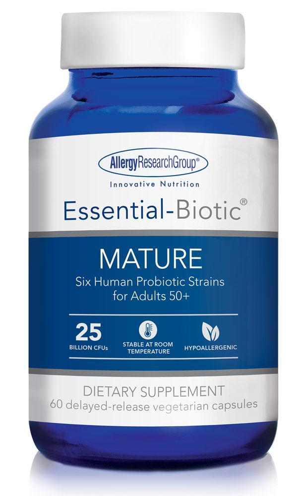 Essential-Biotic® MATURE 60 delayed-release vegetarian capsules