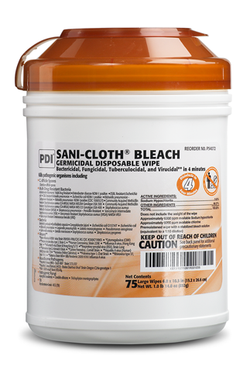 Bleach Sanitizer Cloth Wipes