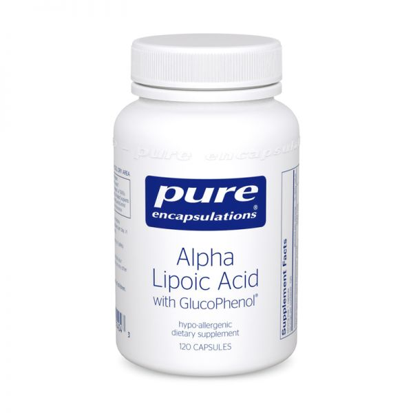 Alpha Lipoic Acid with GlucoPhenol® 120's