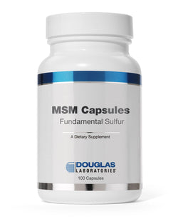 MSM CAPSULES Fundamental Sulfur