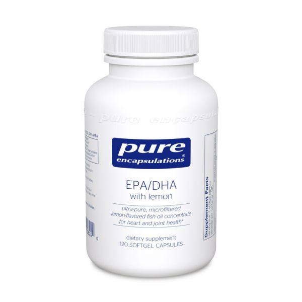EPA/DHA with lemon 120's