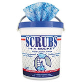 Devilbliss 192218 Scrubs In-a-bucket Hand Cleaner 72-ct Towels