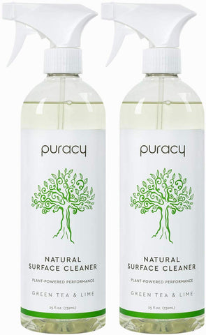 Puracy All Purpose Cleaner, Germ-Fighting Household Natural Multi-Surface Spray, Purifies Surfaces, 25 Ounce (2 Pack)