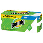 Bounty Select-A-Size Paper Towels, White, 8 Triple Rolls = 24 Regular Rolls