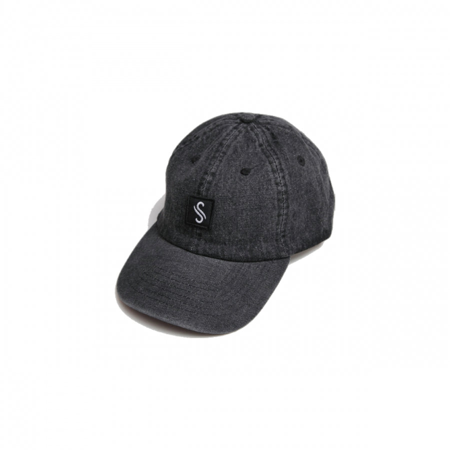 """S-ICON"" DENIM LOW CAP"