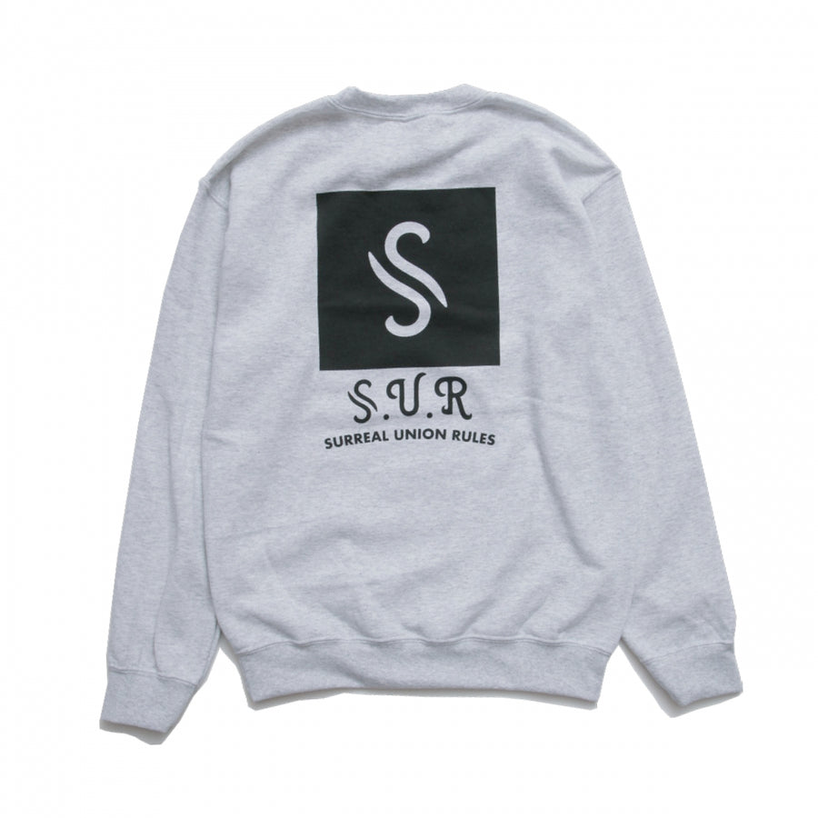 """S-ICON"" PRINT SWEATSHIRT"