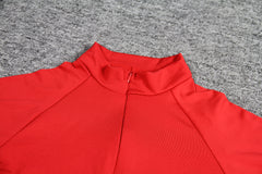 LadyZoye®Autumn And Winter  Cross Border New Women Sexy High Collar Slim Fit Long Sleeve Zipper Casual Sports Skirt