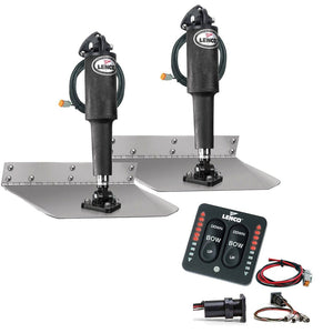 "Lenco 9"" x 9"" Standard Trim Tab Kit w/LED Indicator Switch Kit 12V [TT9X9I]"