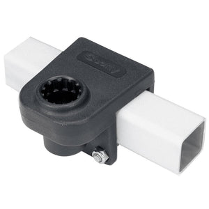 "Scotty 1 1/4"" Square Rail Mount [243-BK]"