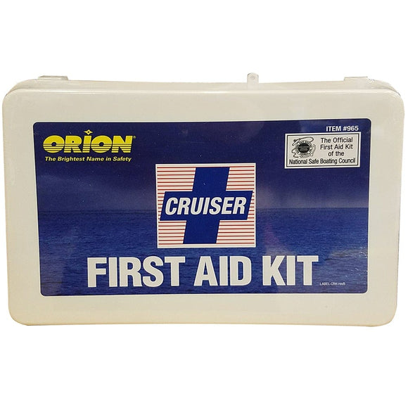 Orion Marine First Aid Cruiser Kit
