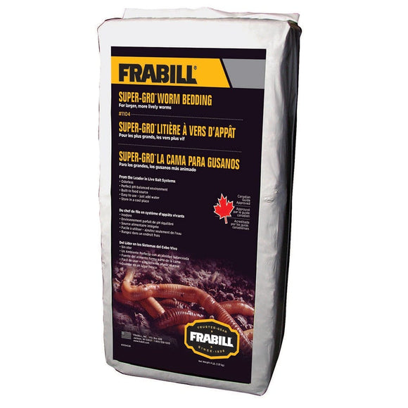 Frabill Super-Gro Worm Bedding - 4lbs [1104]